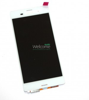 Дисплей Sony  Z3 D6604 with touchscreen  white orig