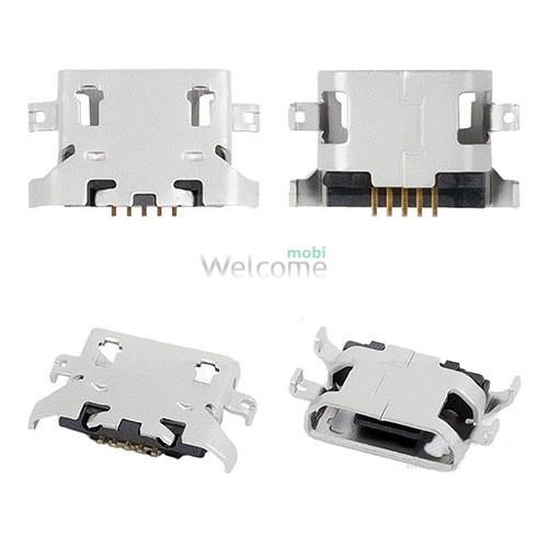 Коннектор зарядки универсальный Lenovo A670T, S650, S720, S820, S658T, A830, A850,P780  orig (5 шт.)