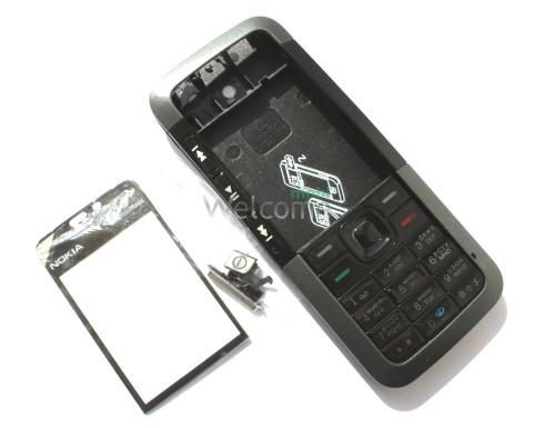 Корпус Nokia 5310 black high copy полный комплект+кнопки