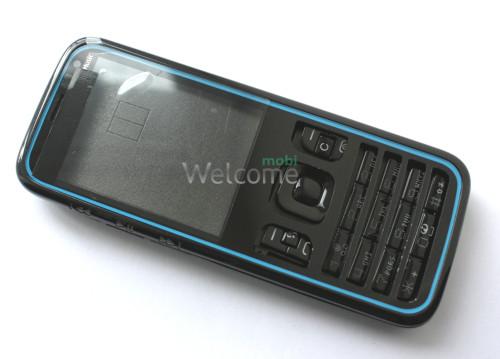 Корпус Nokia 5630 black high copy полный комплект+кнопки