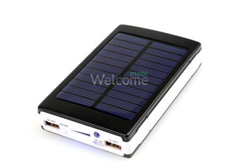 Внешний аккумулятор (power bank) Solar charger (usb+солнечная батарея) 25000mAh