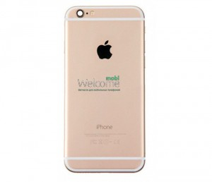 iPhone6 back cover gold