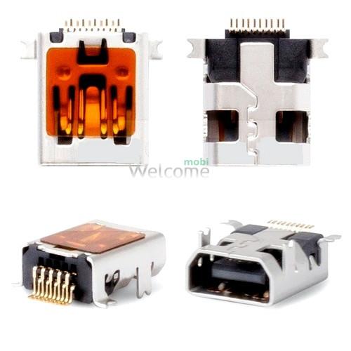 Коннектор зарядки Fly DS103,DS103D,DS105C,DS105D,DS107,DS113,,DS120 (5 шт.)