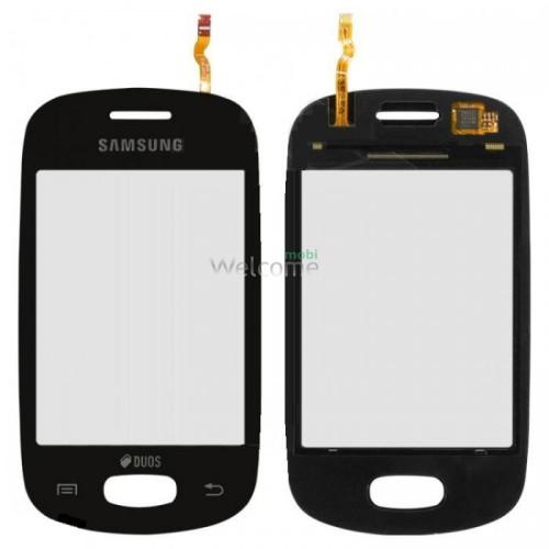 Сенсор Samsung S5282,S5310 black orig