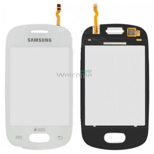 Сенсор Samsung S5282,S5310 white orig