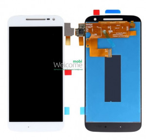 Дисплей Motorola XT1622 Moto G4/XT1621/XT1624/XT1625/XT1626 with touchscreen white orig