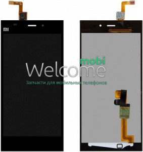 LCD Xiaomi Mi3 with touchscreen with frame orig