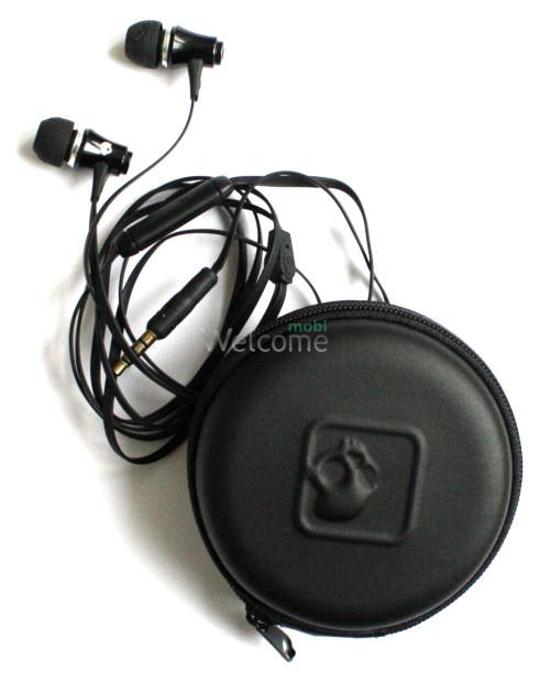 Наушники вакуумные Skullcandy EX-151 green+mic+чехол (гарнитура)