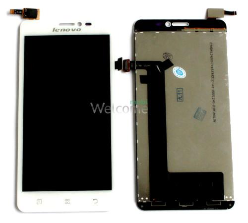 Дисплей Lenovo S850 with touchscreen white orig