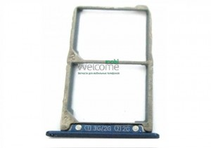 Sim holder Lenovo S850 dark blue