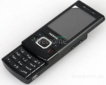 Корпус Nokia 6500 Slide black high copy полный комплект+кнопки