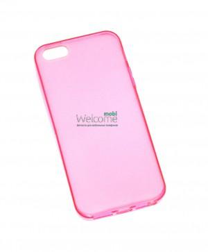 Чехол Remax iphone 5,5s силикон розовый