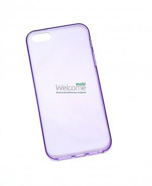 Чехол Remax iphone 5,5s силикон фиолетовый