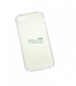 Чехол Remax iphone 5,5s силикон белый