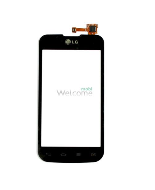 Сенсор LG Optimus L5 E455 black orig