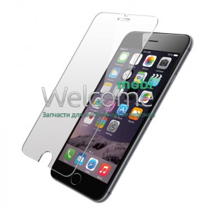 Стекло iPhone 6+,6S+ Tempered Glass Pro+  противоударное без упаковки 0.18 мм