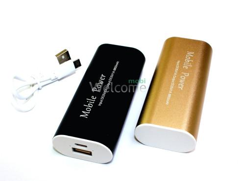 Внешний аккумулятор (power bank) 8800mAh Mobile Power USB(1A) black,gold,silver