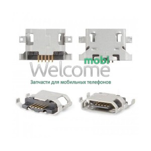 Коннектор зарядки  Fly IQ239, IQ440, IQ4404, IQ456, Sony C1503, C1504, , C1604, C1605 orig