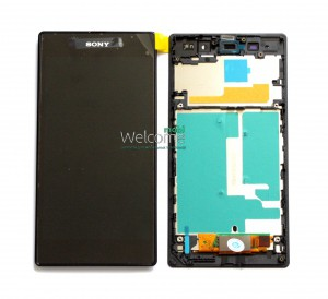 Дисплей Sony C6902 L39h Xperia Z1,C6903,C6906,C6943 Xperia Z1+ frame with touchscreen orig