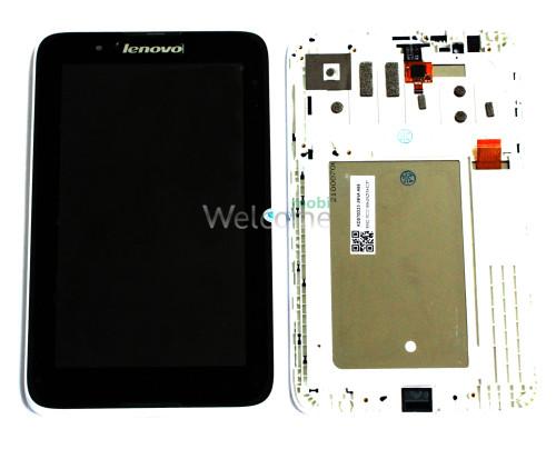 Дисплей к планшету Lenovo A3300 with touchscreen black orig