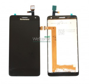 Дисплей Lenovo S668t with touchscreen black orig