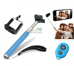 Bluetooth selfie stick (Монопод)