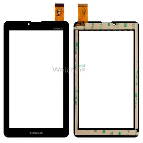 Сенсор к планшету Nomi (104*185) C07000,C07005,C07008,C07009 Rev 1,A07005 black