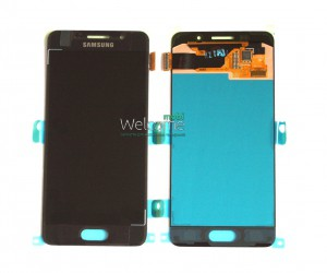 Дисплей Samsung SM-A310F Galaxy A3 (2016) black with touchscreen service orig