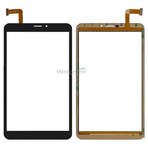 Сенсор к планшету Bravis (204*120) 50 pin 8 NB85 3G (тип 1) black