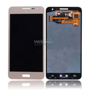 Дисплей Samsung SM-A300H Galaxy A3 gold with touchscreen service orig