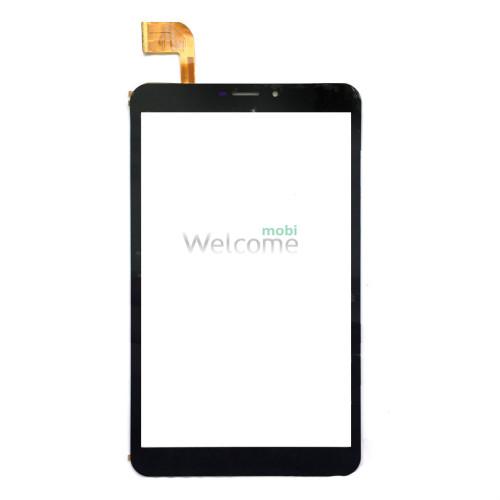 Сенсор к планшету Bravis (204*120) 51 pin 8 NB85 3G IPS (тип 3) 51 pin black