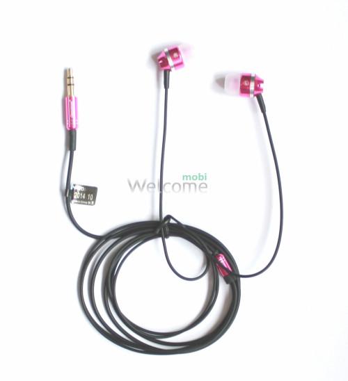 Наушники вакуумные Deepbass E4 pink