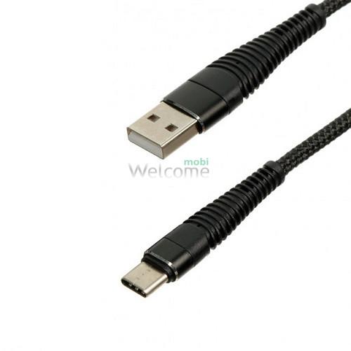 USB кабель micro Type C black