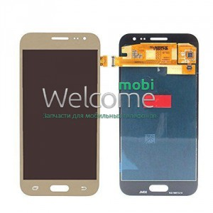 Дисплей Samsung SM-J200H Galaxy J2 gold with touchscreen service orig