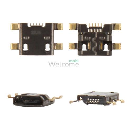Коннектор зарядки HTC G23,G24,G25,S720e One X,Z320e One S,Z520e,Z560e orig (5 шт.)