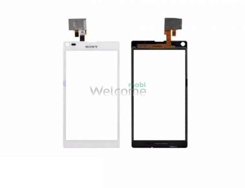 Сенсор Sony C1904 Xperia M, C1905 Xperia M, C2004 Xperia M Dual, C2005 Xperia M Dual, white orig