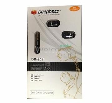 Наушники вакуумные Deepbass E8 black