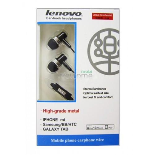 Наушники вакуумные Lenovo 204 black