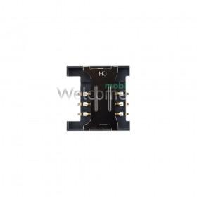 Коннектор sim Lenovo A516,A760,A820