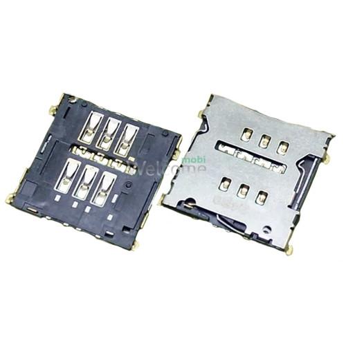 Коннектор sim LG D802 G2, D803, D805, LS980 Optimus G2