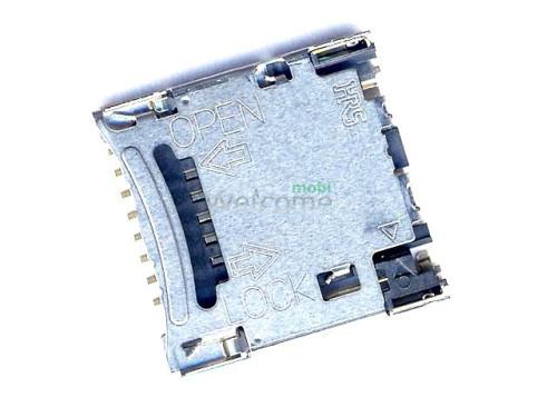 Коннектор sim Samsung C5212,C6112,B5702,S5350,S5550,E2550