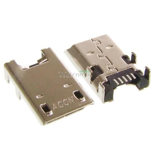 Коннектор зарядки Asus ME102,ME180,ME372,ME373,ME301,ME302 (K001,K005,K00A) (micro USB)