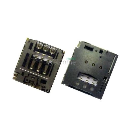 Коннектор sim Sony D2302 Xperia M2 Dual,D2303,T3,M50w,Lenovo tablet