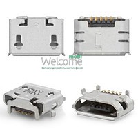 Коннектор зарядки Lenovo A2109,A1-07,Asus ME170(K017) (5 шт.)