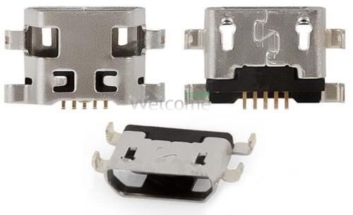 Коннектор зарядки Lenovo А1000,Fly IQ458,IQ459 (5 шт.)
