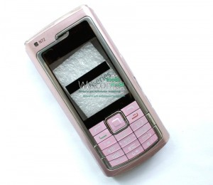 Корпус Nokia N72 pink high copy полный комплект