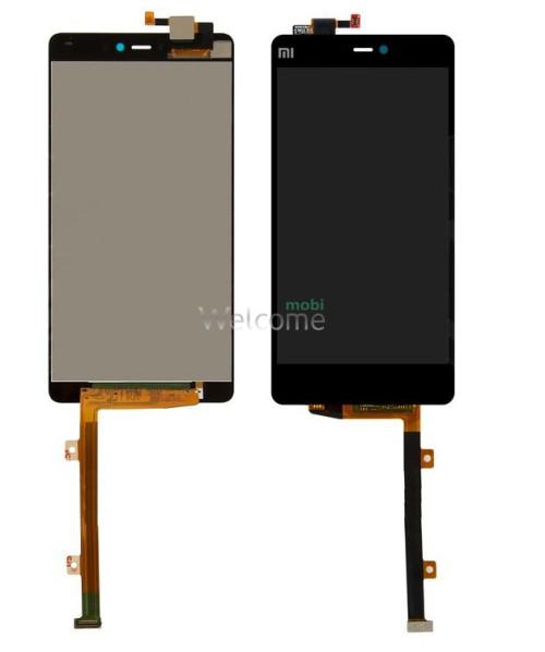 Дисплей Xiaomi Mi4i with touchscreen black orig (LCD TEST)