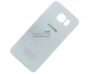 Задняя крышка Samsung G920F Galaxy S6 white orig