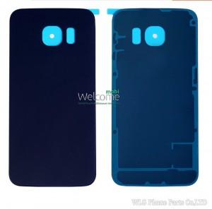 Задняя крышка Samsung G920F Galaxy S6 blue orig