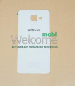 Задняя крышка Samsung A510 Galaxy A5 (2016), white orig